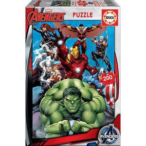 PUZZLE EDUCA - Puzzle - 200 AVENGERS