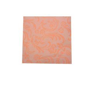 80 Serviettes de table 50 x 50 cm blanc coton damasse Restaurant Hotel Mariage