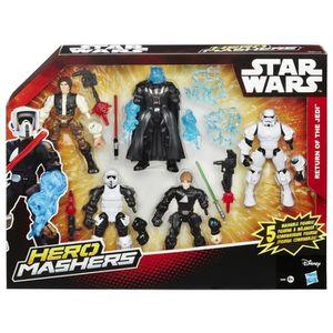 FIGURINE - PERSONNAGE Figurine Miniature HASBRO L1LS5 Star Wars Hero Mas