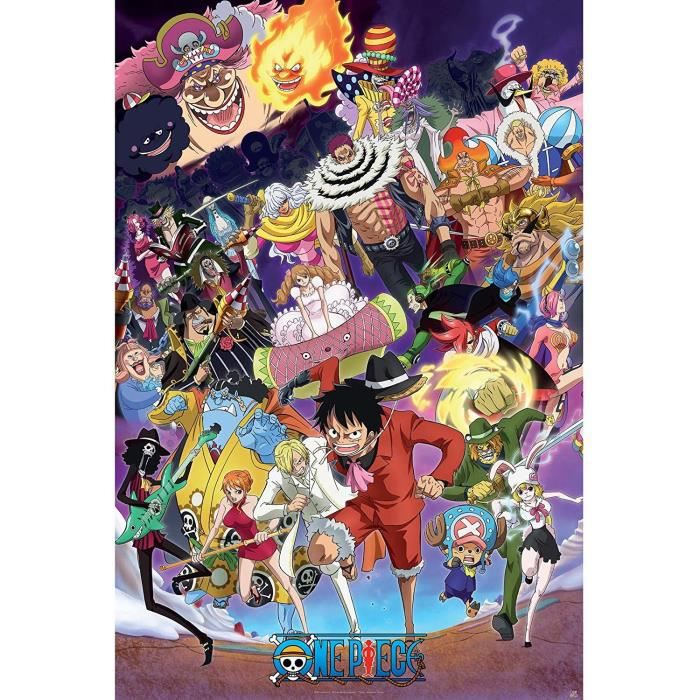 Poster One Piece - Big Mom saga roulé filmé (91.5x61) - ABYstyle