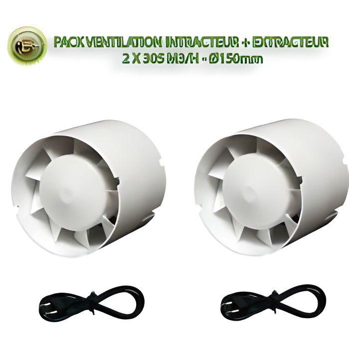 Pack Intracteur + Extracteur - 150mm