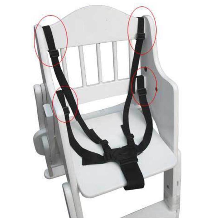 Sécurité Ceinture harnais de chaise multifonction pratique Bébé Enfant accessoire de Poussette