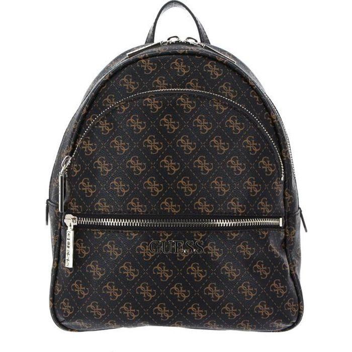GUESS Manhattan Backpack Brown [118702] - sac à dos sac a dos