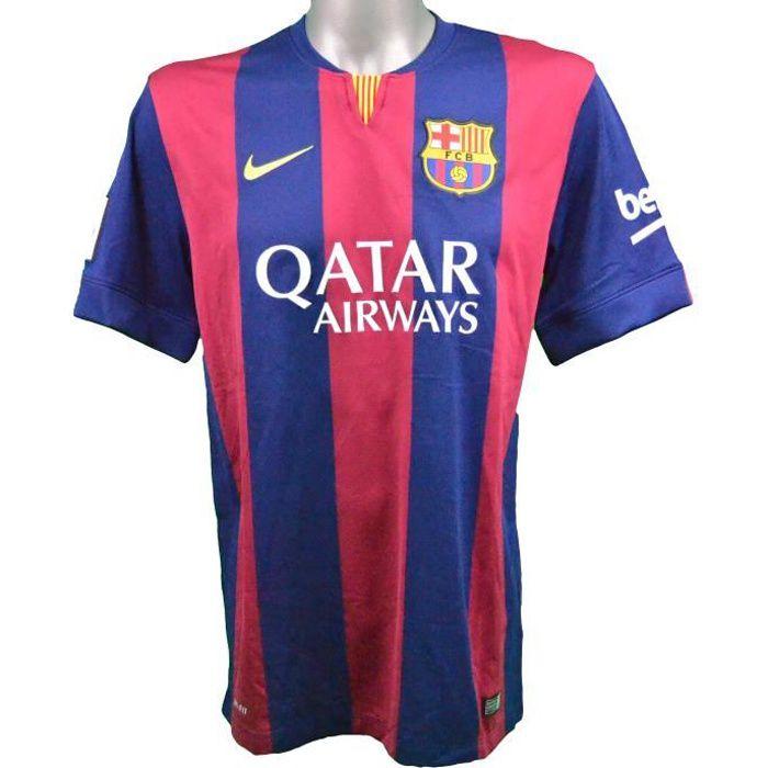 Maillot domicile FC Barcelone 2014/2015 Iniesta