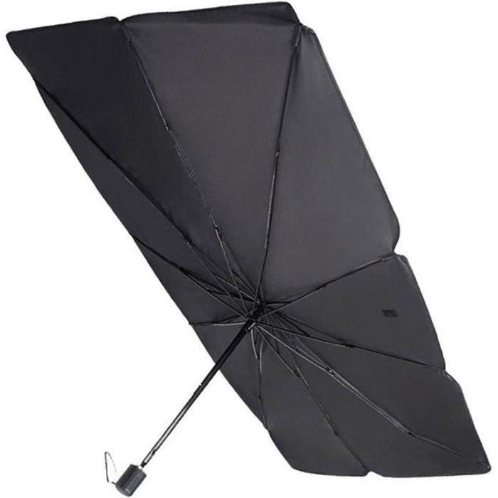 Pare-brise Pare-soleil pliable voiture Parasol UV véhicule résistant à la chaleur Auvent parapluie noir S