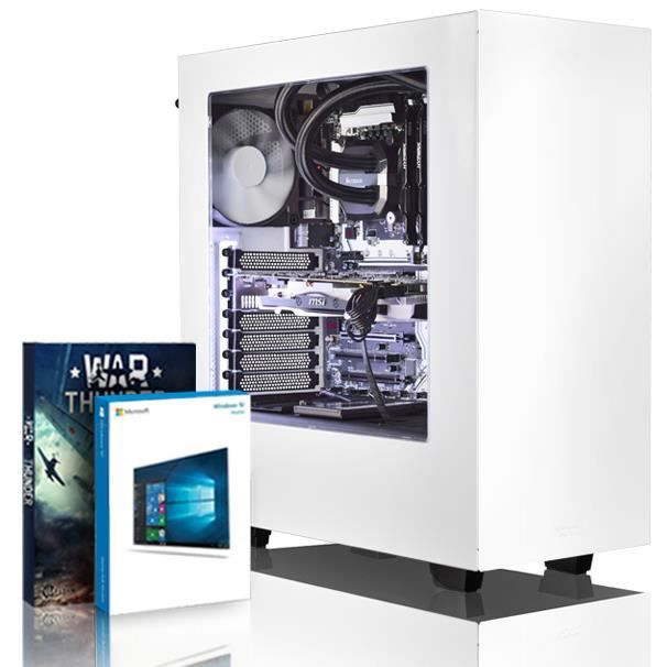 Vibox Rapture M560 257 Pc Gamer Ordinateur avec War Thunder Jeu Bundle, Windows 10 Os (4,0Ghz Intel i5 6 Core Processeur, Msi Armor