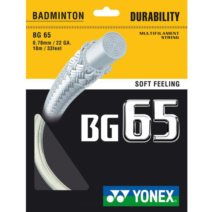 Cordage Yonex BG65