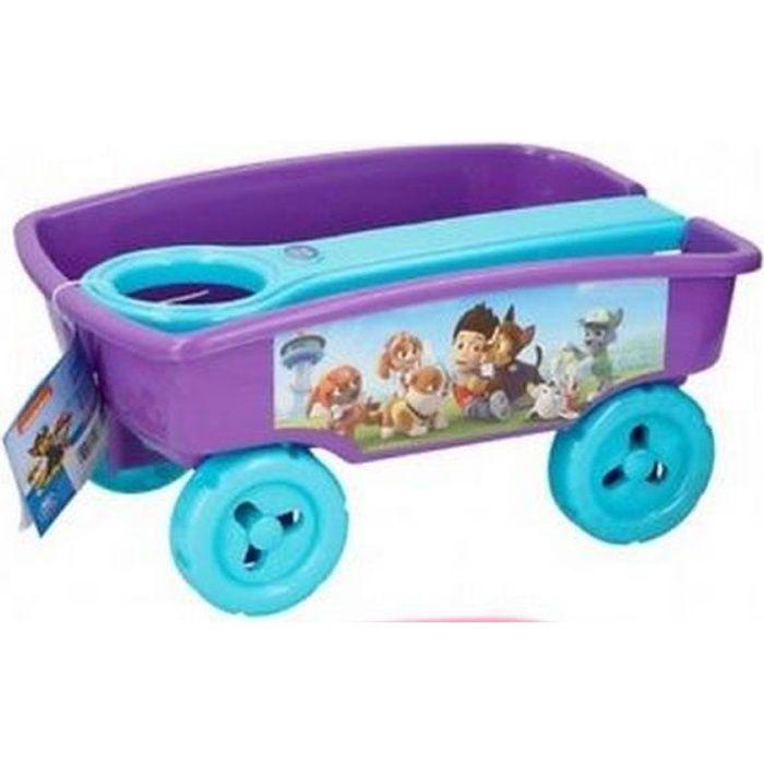 Chariot Mauve Pour Enfant Pour Jardin Maison Plage Sable Jeu Jouet Brouette A Tirer Rangement Achat Vente Remorque Chariot Cdiscount
