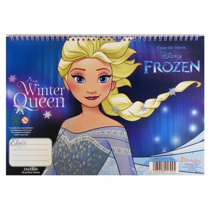 Nouveau Disney Frozen Coloriage Puzzle /& 6 crayons de couleur dans Jigsaw Anna Elsa Olaf