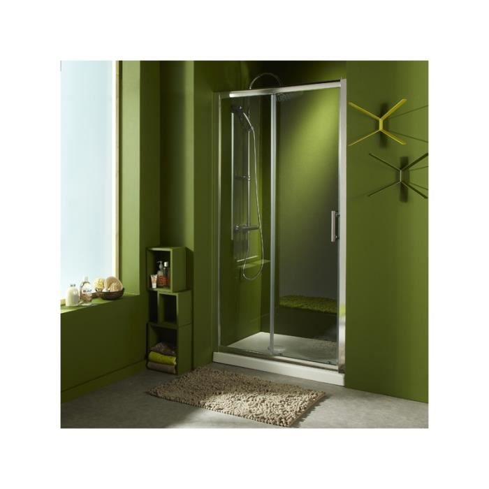 porte de douche coulissante 39 marie 39 100x190 cm achat vente cabine de douche porte de douche. Black Bedroom Furniture Sets. Home Design Ideas