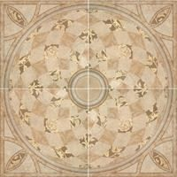 Rosace decorative 5000 beige 100x100 cm achat vente for Rosace carrelage interieur