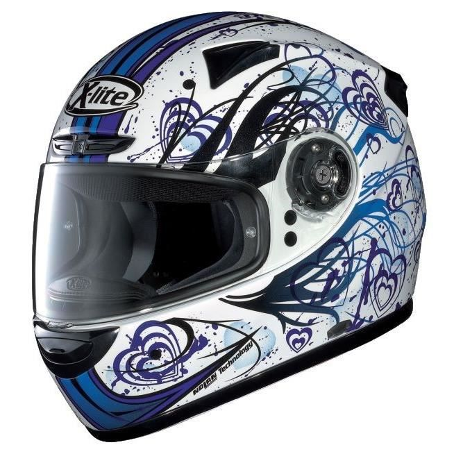 casque x lite x 701 essence blanc bleu achat vente casque moto scooter casque x lite x 701. Black Bedroom Furniture Sets. Home Design Ideas
