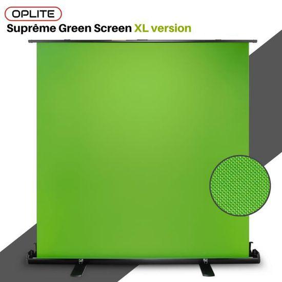 Oplite Supreme Green Screen Xl Fond Vert Retractable Achat Vente Fond De Studio Cdiscount