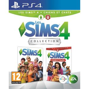 JEU PS4 SIMS 4 Edition Chiens & Chats Jeu PS4