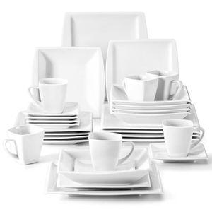 SERVICE COMPLET MALACASA Service de table complet en porcelaine de