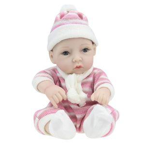 POUPON Réaliste Bébé Poupée 28cm Nouveau-Né Poupée Enfant