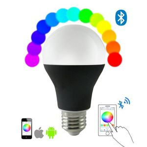 Contrôle Magic De Dimmable Bluetooth Led Color Ios Rgbw E27 Ampoule Android 7w App Lampe Changement Contrôlé Lumière Smart Couleu odCBrxe