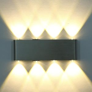 APPLIQUE  8w Moderne Aluminium LED Applique Murale Interieur