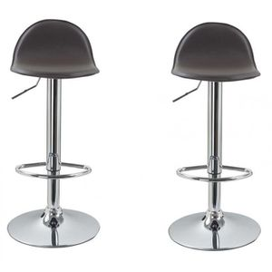tabouret de bar marron lot de 2 achat vente tabouret de bar marron lot de 2 pas cher cdiscount. Black Bedroom Furniture Sets. Home Design Ideas