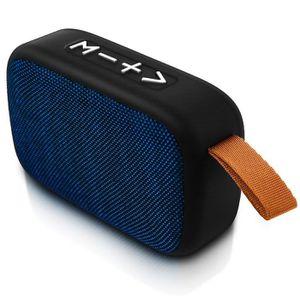 ENCEINTE NOMADE Enceinte Bluetooth Audio Micro-SD Clé USB Jack 3.5