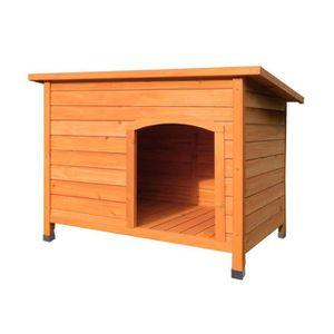 NICHE Niche à chien toit ouvrant bitumé 0,96m² - Pour mo
