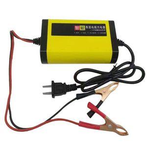 CHARGEUR DE BATTERIE Chargeur de batterie moto à affichage numérique in