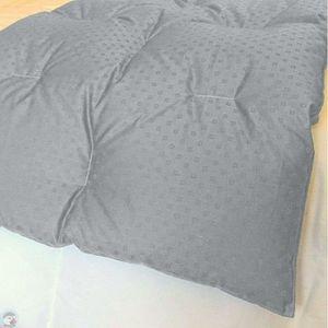 JETÉE DE LIT - BOUTIS Chemin de lit matelassé gris clair 60x130 cm 90% d