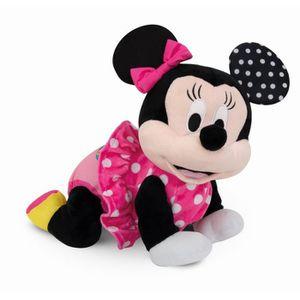 PELUCHE CLEMENTONI Disney Baby  - Minnie fait du 4 pattes