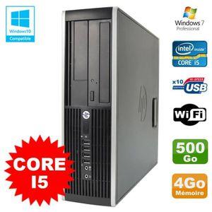 UNITÉ CENTRALE  PC HP Elite 8200 SFF Intel Core I5 3.1GHz 4Go Disq