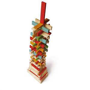 ASSEMBLAGE CONSTRUCTION JEUJURA - TECAP  COLOR - 300 planchettes en bois
