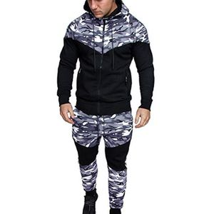 SWEATSHIRT Sweat-shirt camouflage Automne Hiver hommes Top Pa