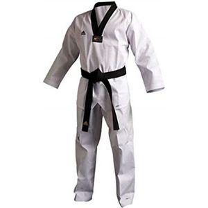 Wacoku Taekwondo Uniforme pour Adulte et Enfant Dobok WT Approuv/é Hommes Femmes Blanc