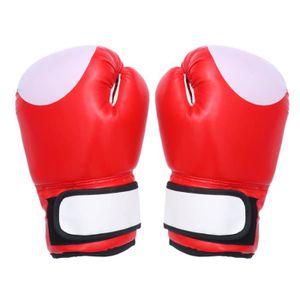 excellent niveau d/'entr/ée Muay Thai MMA gants de boxe avec fermeture Velcro pour plus de 13 ans d/'entra/înement des gants Gants de boxe Sports de combat UVM Id/éal pour les boxes kickboxing