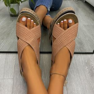 Femme Plate Lacet Espadrilles Mesh Plat Ete Escarpins Sandales Chaussures Taille