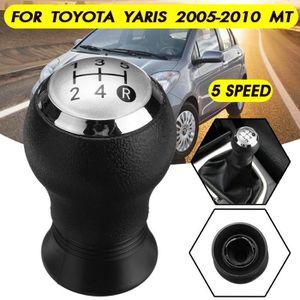 Soufflet de levier vitesse noir1 pour TOYOTA YARIS 2 2005--/>