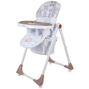CHAISE HAUTE  Chaise haute de bébé/enfant 6-36 mois Confort Lux