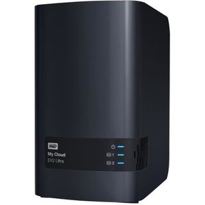 SERVEUR STOCKAGE - NAS  WESTERN DIGITAL My Cloud EX2 Ultra - 6To - Charcoa