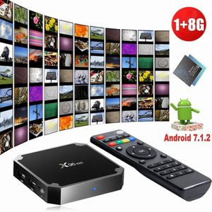 BOX MULTIMEDIA TV BOX Smart Multimédia X96 Mini Android 7.1 1GB+