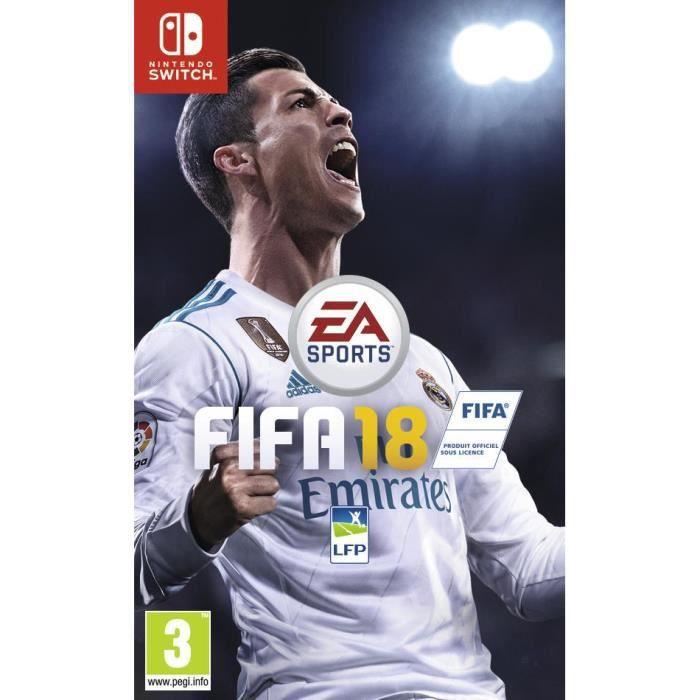 JEU NINTENDO SWITCH FIFA 18 Jeu Switch