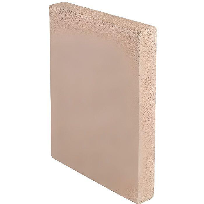 Kamino - Flam Panneau de Vermiculite, Vermiculite Plaque Cheminée de Matériau Naturel, Substitut Pour Chamotte, Résista 33331