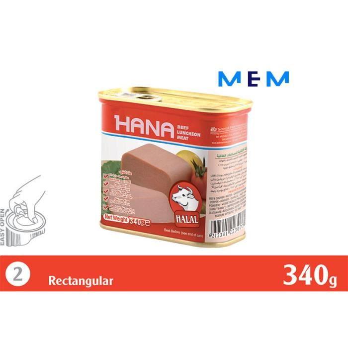 Mortadelle de boeuf HANA 830 gr