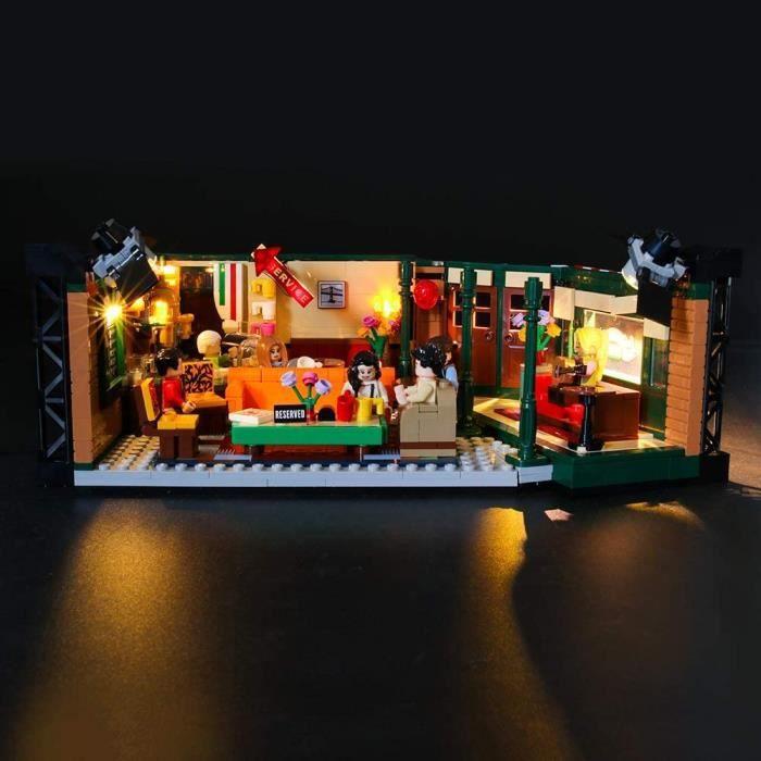 Jeux de construction LIGHTAILING Jeu De Lumières pour (Ideas Friends Central Perk) Modèle en Blocs De Construction - Kit 52963