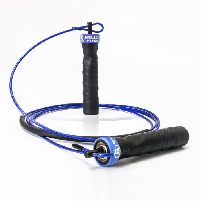 Accessoires Fitness - Musculation,Vitesse réglable corde à sauter entraînement de force corde à sauter poignée - Type BLUE