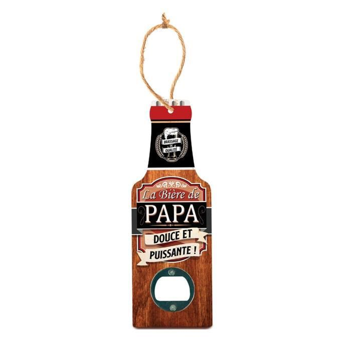 Décapsuleur en bois - La Bière de Papa