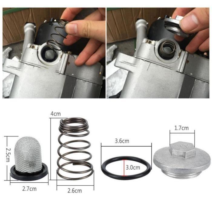 GY6 – pièces de moteur 50cc à 150cc 125-150, bouchon, filtre à huile, vis de vidange, pour Scooter Baotian, Benzhou, Znen, Taotao