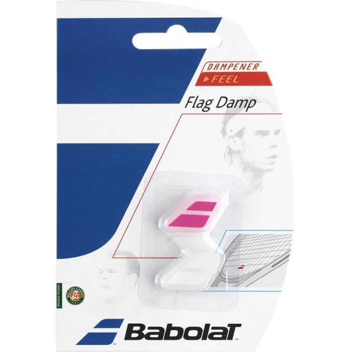 Antivibrateur BABOLAT Flag Damp Blanc / Rose