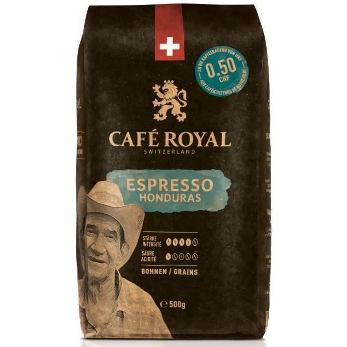 CAFE ROYAL Grain Honduras Corsé x500g