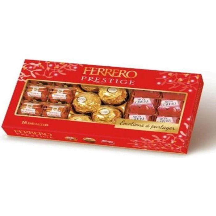 Ferrero Prestige Assortiment chocolats 16 pièces 166g