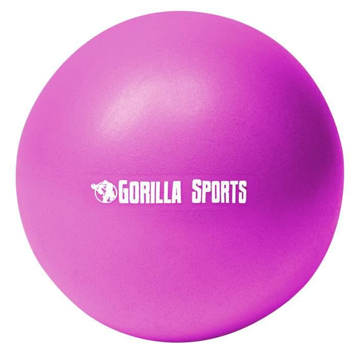 Ballon de Pilates violet Soft Ball - Diamètre : 18 cm