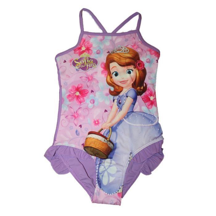maillot de bain sofia violet